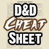D&D Cheat Sheet