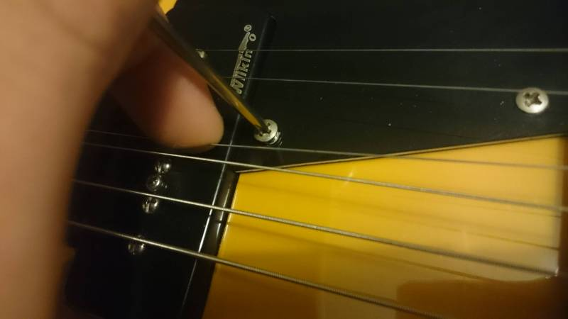 """Moving the G-string out of the way so I could screw."""